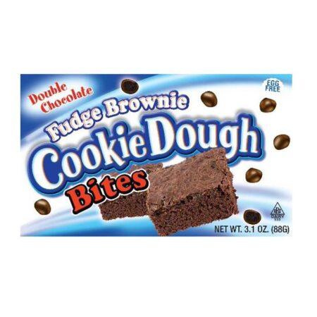 cookie dough bites fudge brownie double chocolate