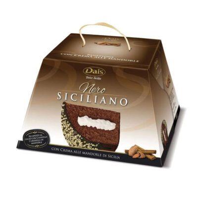 dais panettone almond cinnamon cocoa