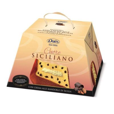 dais panettone almond cream and bitter chocolate chips