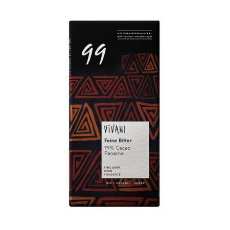 dark chocolate 99 vivani 80g