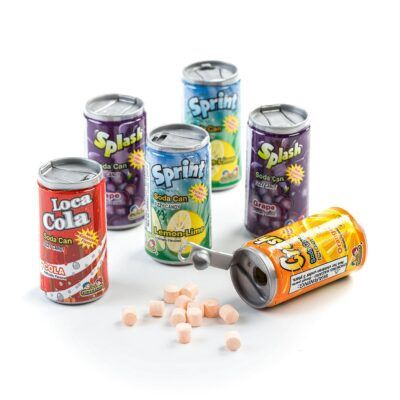 fizzy candy soda can 42g 2