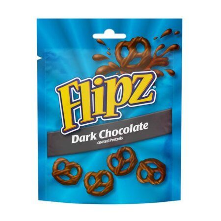 flipz dark chocolate pretzels g