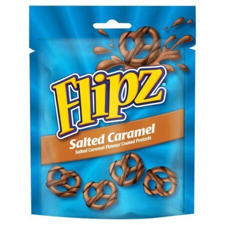 flipz salted caramel pretzels g