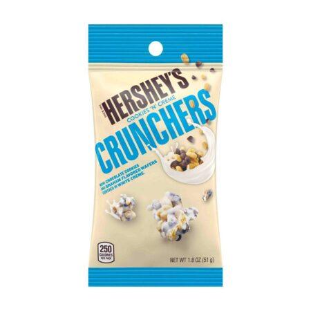 hersheys crunchers cookies n creme 51g