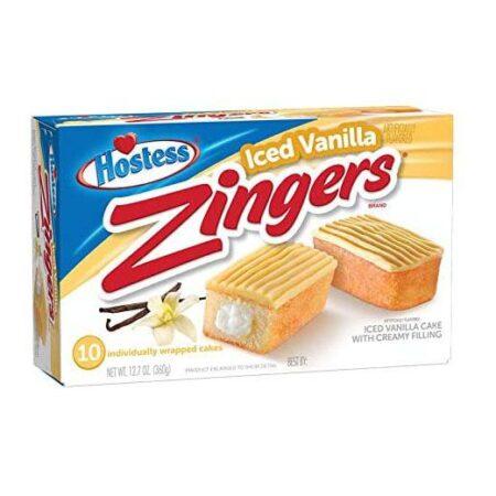 hostess vanilla zingers g