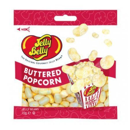 jelly belly buttered popcorn 70g
