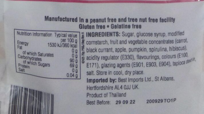 jelly belly peanut butter jelly jelly beans 70g facts