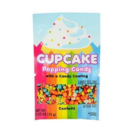koko cupcake popping candy confetti