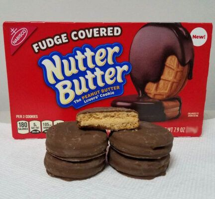 nutter butter fudge covered cookies 74g 2