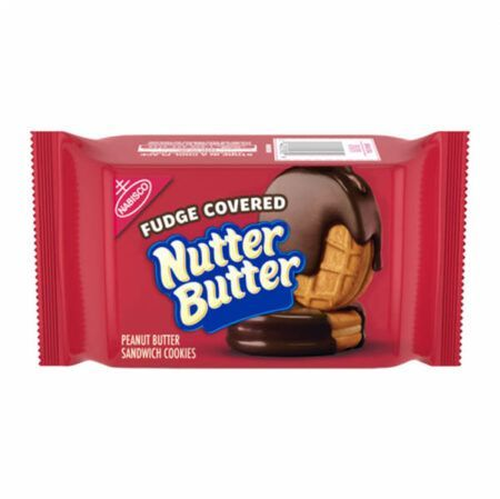 nutter butter fudge covered cookies 74g