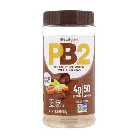 pb2 peanut powder with cocoa 184g