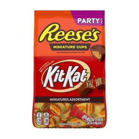 reeses kitkat minis party pack g
