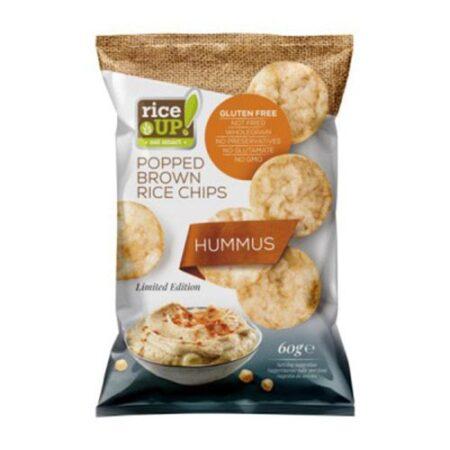 rice up chips hummuz 60g