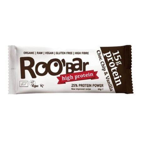 roo bar proteine chocolate chips vanille g