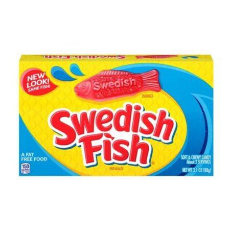 swedish fish normal 88g