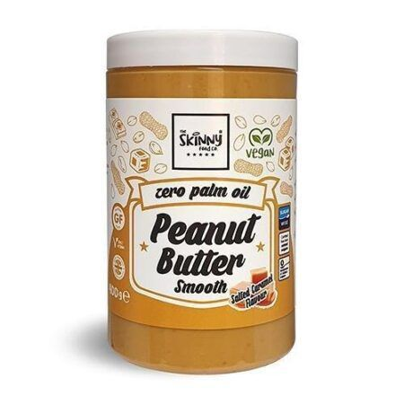 the skinny food co salted caramel peanut butter 400g