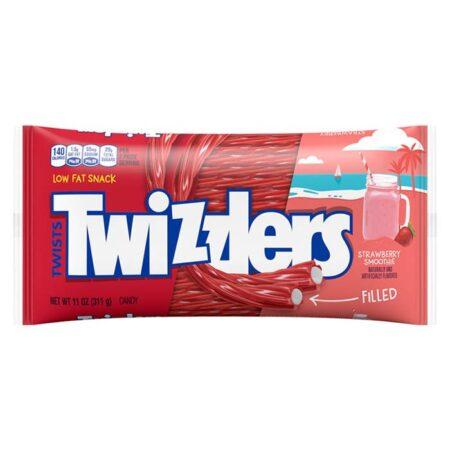 twizzlers filled twists strawberry smoothie 11oz 311g