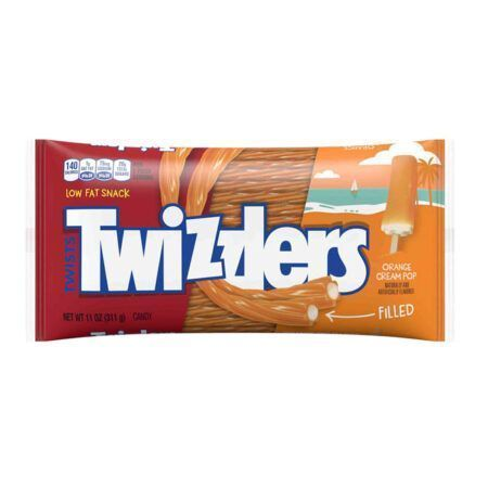 twizzlers orange filled twist 311g