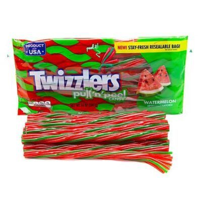 twizzlers pull n peel watermellon 396g 2