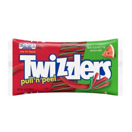 twizzlers pull n peel watermellon 396g