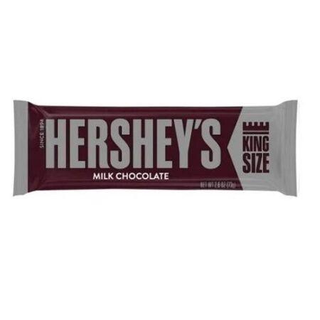 Hershey sMilkChocolateKingSizeCandyBar 73g