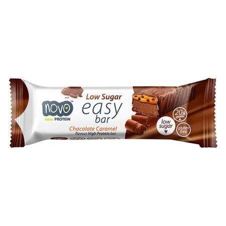 NOVO EASY BAR CARAMEL caramel cookie crunch 60g