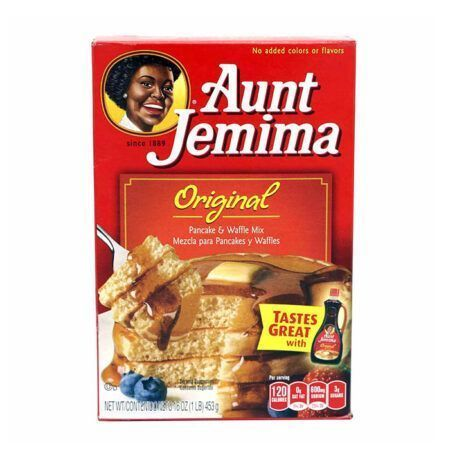 aunt jemima original pancake waffle mix 453g