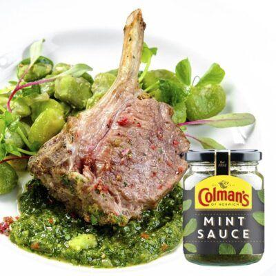 colmans mint sauce 165g 2