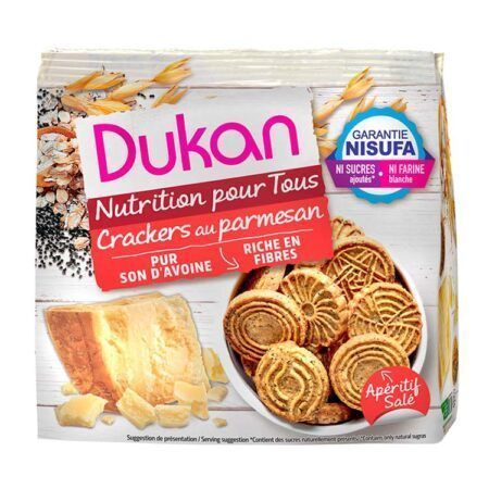dukan crackers au parmesan g