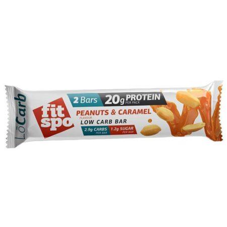 fitspo lo carb peanuts caramel 60g