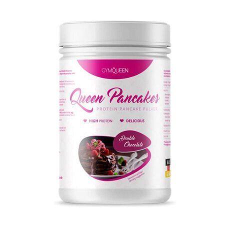 gymqueen protein pancake double chocolate