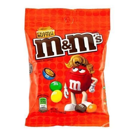 mm s peanut butter big bag 144g