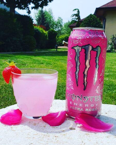 monster ultra rosa ml
