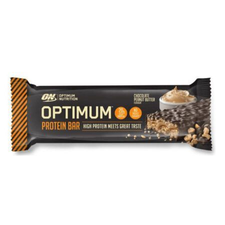 optimum nutrition chocolate peanut butter bar 62g