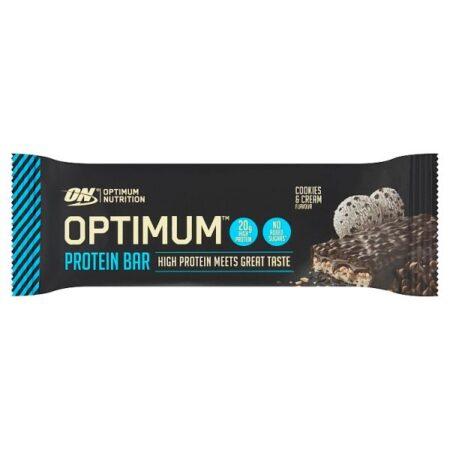 optimum nutrition cookies cream bar 62g