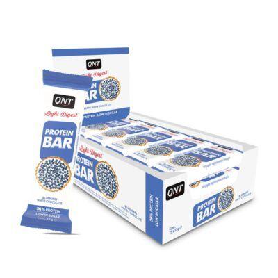 protein bar blueberry white chocolate 15x55g