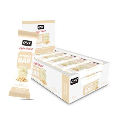 protein bar peanut white chocolate 15 x 55 g