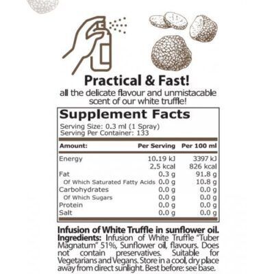 pure nutrition truffle spray 40 ml
