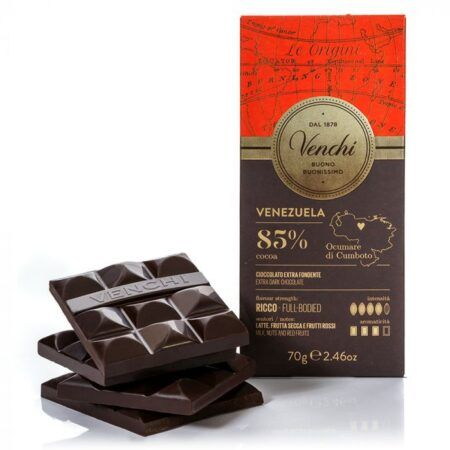venchi dark chocolate venezuela 85 70g 2