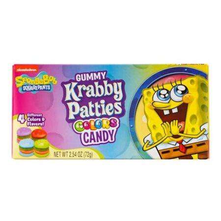 Nickelodeon Sponge Bob Square Pants Gummy Krabby Patties g