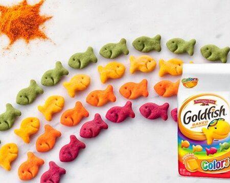 Pepperidge Farm Goldfish Cheddar Colors 187g 2