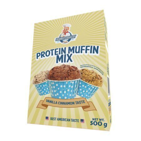 Protein Muffin Mix vanilla cinnamon