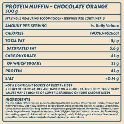 Tabelle MUFFIN Orange 1