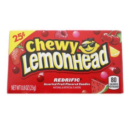 chewy lemonheads redrific 23g