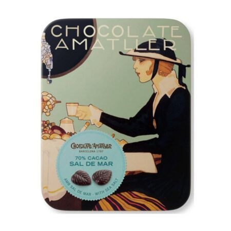 chocolate amatllers chocolate leaves 60g