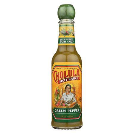 cholula mexican hot sauce green pepper 150ml