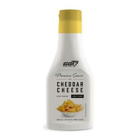 got7 premium sauce cheddar cheese 285ml