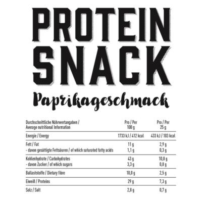 got7 protein nachos cheese style 50g facts 2