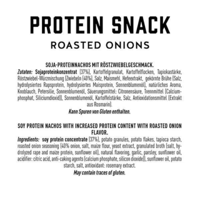 got7 protein nachos roasted onions 50g facts 1