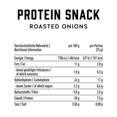 got7 protein nachos roasted onions 50g facts 2